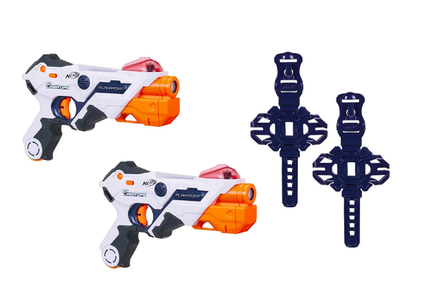 Amazon's Top 10 toys for Christmas 2018  - Nerf Laser Ops Pro Alphapoint pack of 2