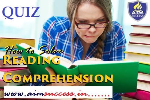 Reading Comprehension for SBI Clerk: 17 March 2018