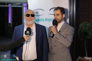 Ο Βαγγέλης Αυγουλάς και ο Υπουργός Ναυτιλίας Παναγιώτης Κουρουμπλής