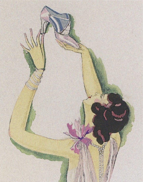 cc703f3f77eda 1925 | ANDRE PERUGIA EVENING SHOES AS SEEN IN VOGUE [NOW AT A MUSEUM ...