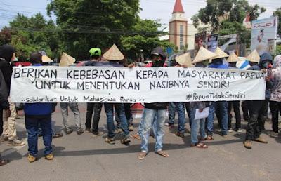 FRI-WP akan Deklarasi Dukung Papua Tentukan Nasib Sendiri