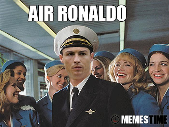 Memes Time Cristiano Ronaldo Raynaldo – Air Ronaldo?