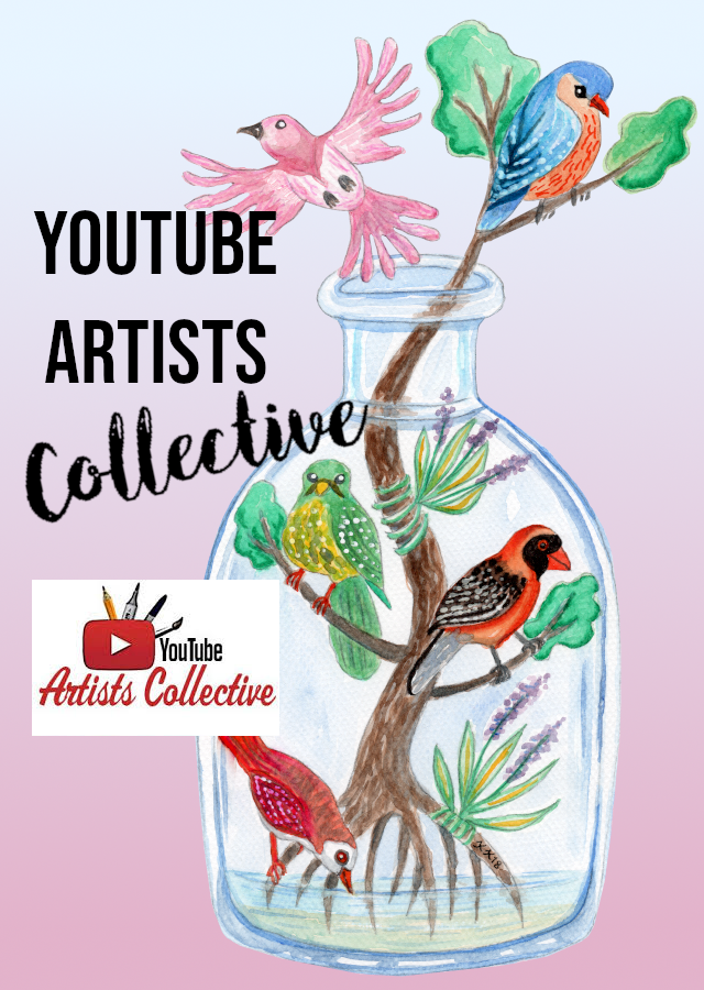 What YTAC or YouTube Artists Collective is, why and how to take part in it as an artist and how to vote for the next themes + a list of the previous YouTube Artist Collective themes, so you can use as ideas for your artworks.