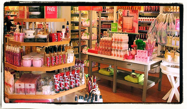 brand marketing: well known product #3: bath and body works