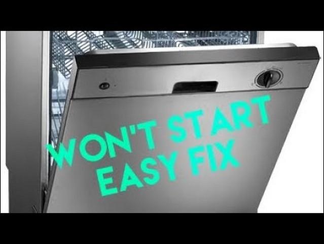 Frigidaire Dishwasher Lights Blinking Won T Start