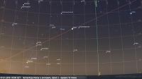 HIT MIESIĄCA - Koniunkcja Marsa z Jowiszem, poranek drugi - 07.01.2018 - największe zbliżenie 13 minut - widok w szerokim polu widzenia