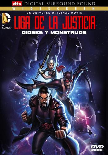 La Liga de la Justicia: Dioses y monstruos (2015) [BRrip 1080p] [Latino]