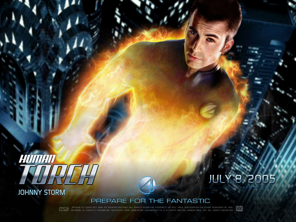 Fantastic Four Human Torch Pictures