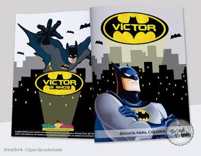 Lembrancinha para festa Batman