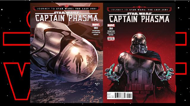 Recenzja - Journey to Star Wars: The Last Jedi – Captain Phasma #3 i #4 - Kelly Thompson