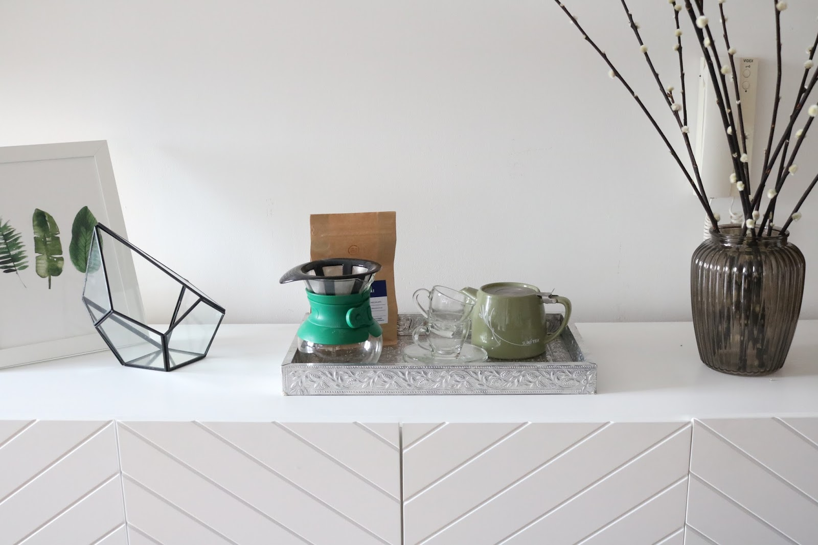 STYLING A SIDEBOARD THREE WAYS - Champagne Lifestyle