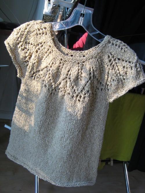 Silk Leaf Pullover - Free Pattern