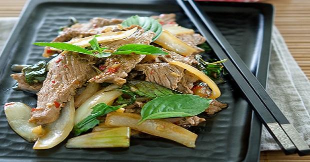 Thai Beef And Basil Stir-Fry Recipe