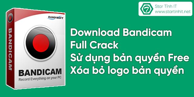 Bandicam 4.1.3.1400 full crack bản quyền - phần mềm quay màn hình máy tính tốt nhất
