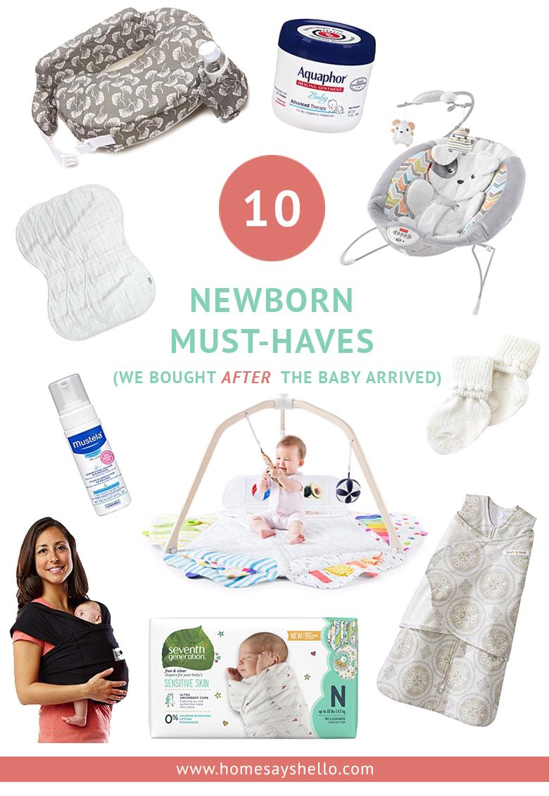 10 Newborn Must-Haves We Needed After the Baby Arrived #newbornessentials #firsttimemom