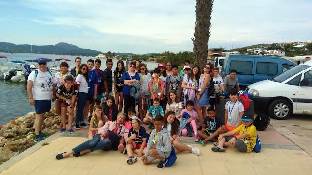 Viatge d'estudis a Menorca