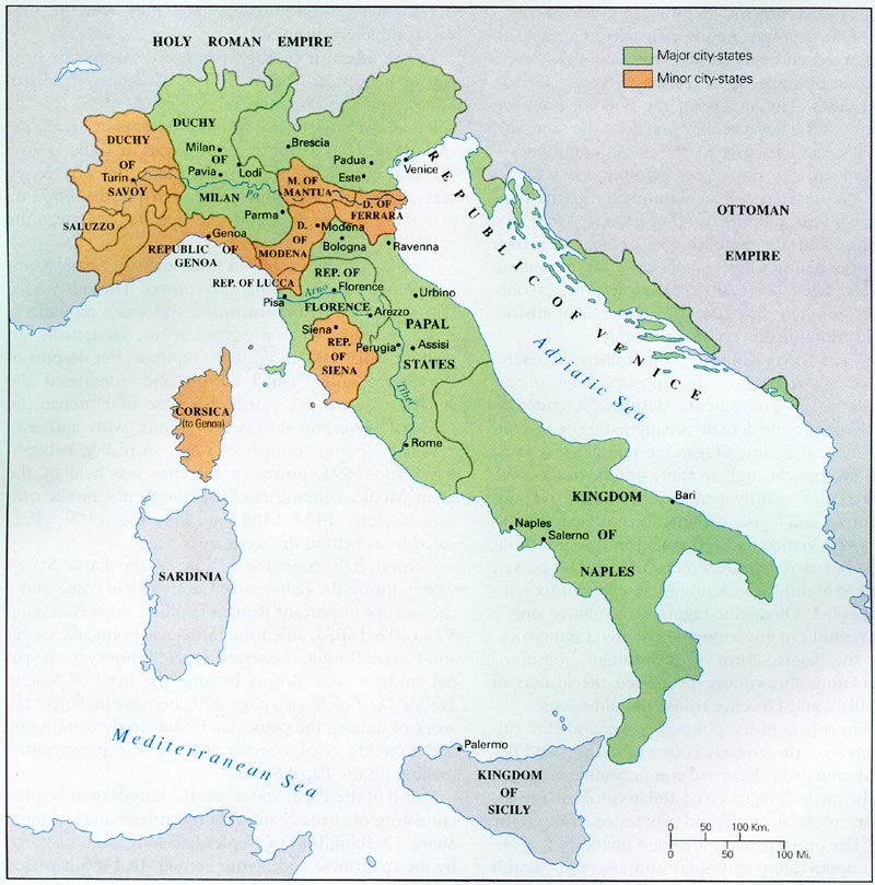 urbino italien karte
