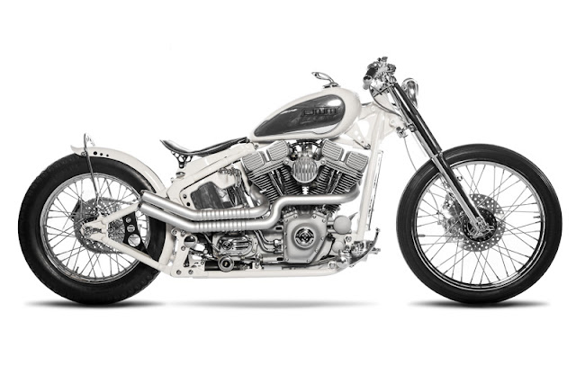 Harley Davidson By One Way Machine Hell Kustom