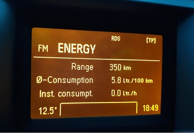 Opel Vectra C fuel consumption - real world test