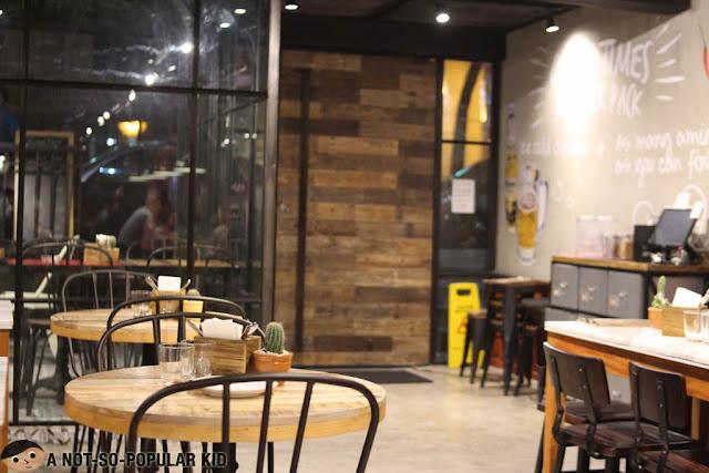 Gringo Restaurant Interior in Carlos Palanca, Makati