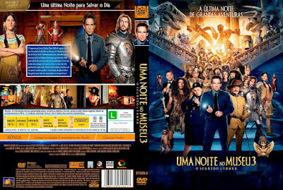 Filme Uma Noite No Museu 3 - O Segredo Da Tumba (Night At The Museum Secret Of The Tomb) DVD Capa