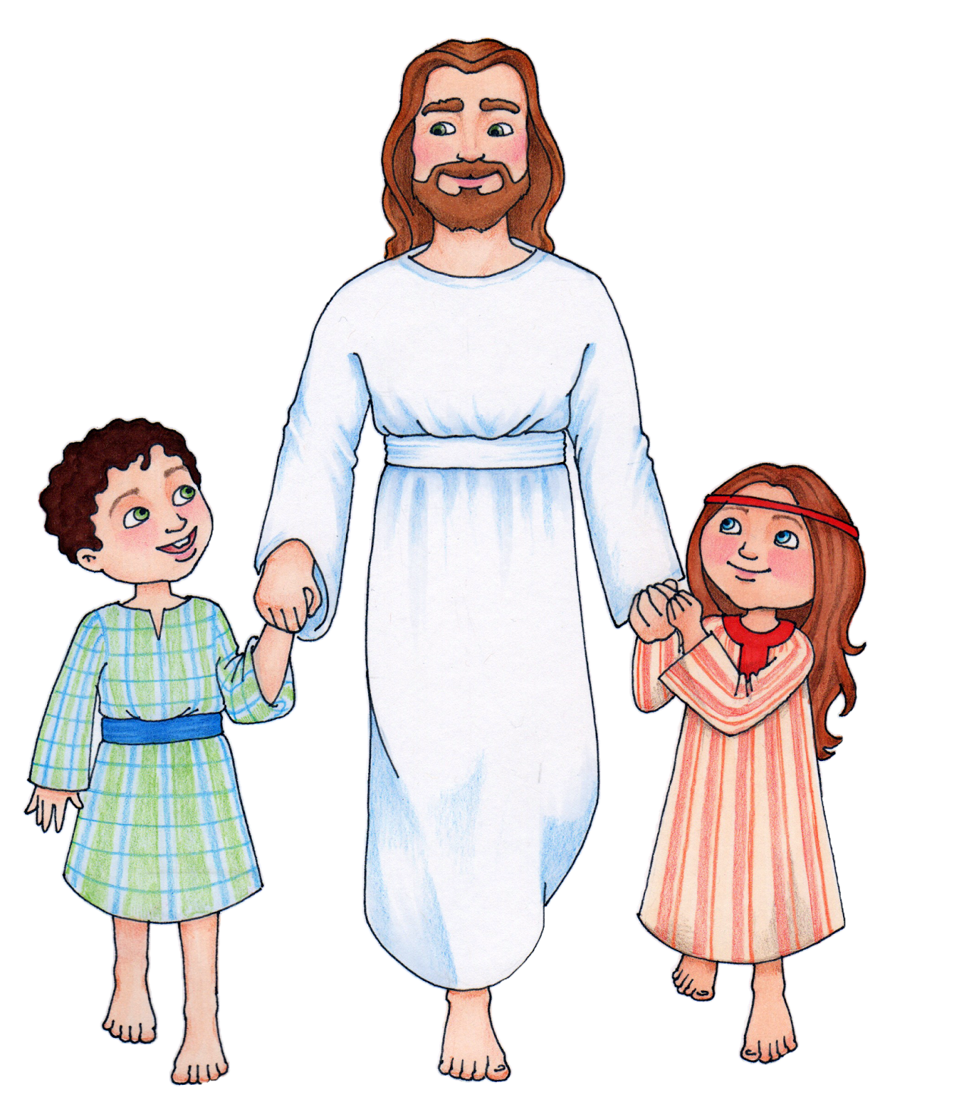 clipart cartoon jesus - photo #37