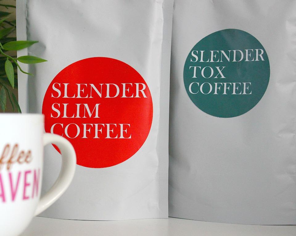 Slendertoxtea Slender Slim & Slendertox Coffee