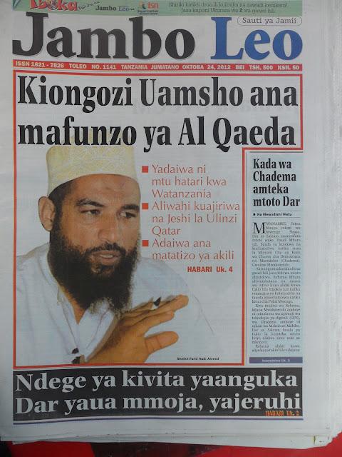 Image result for uislam na ugaidi