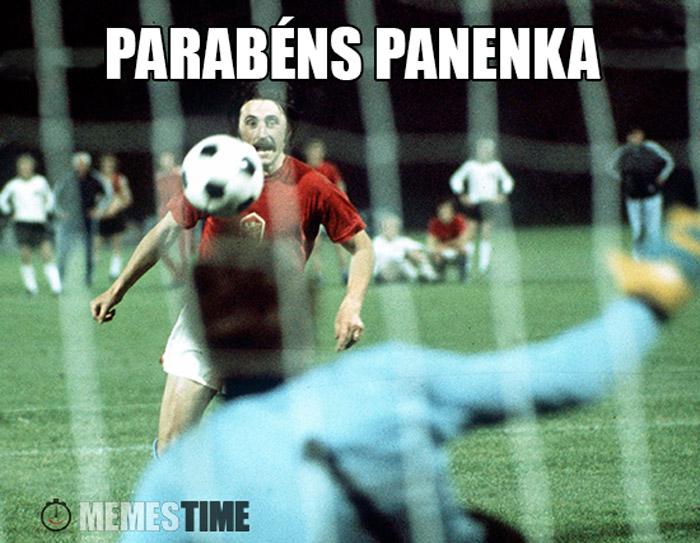 Meme Antonin Panenka – Parabéns Panenka