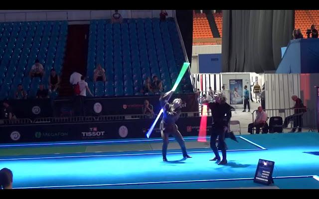 ライトセーバーが正式なフェンシングの正式な競技になった??【o】