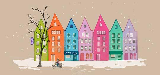 Ilustración de Amandine Ben aka Albyky