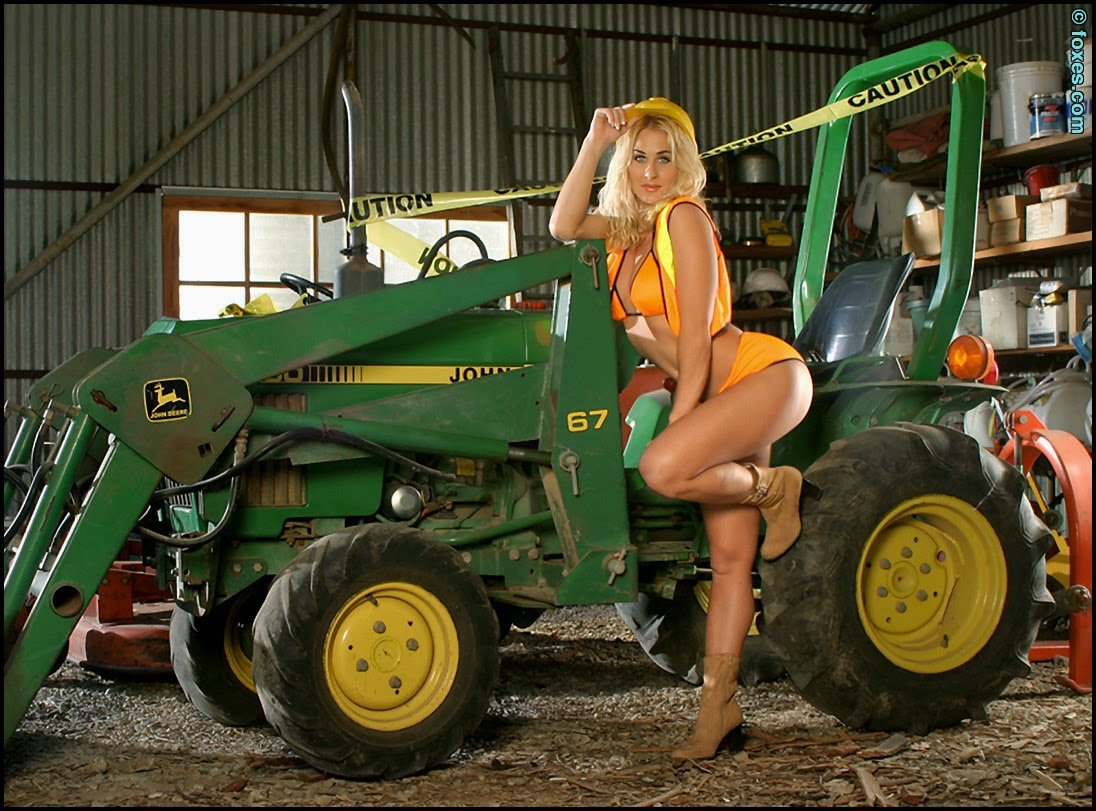 Rancher cowgirl naked around the iowa farm 10