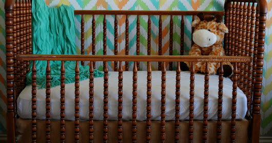 Painting a Gender Neutral Nursery