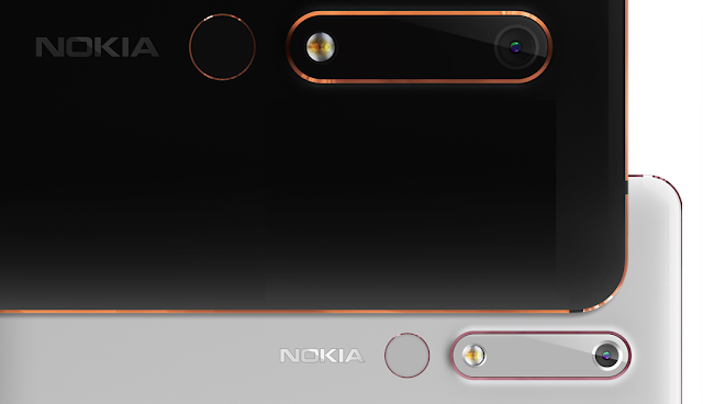 And Here is the 2018 Nokia 6 in Black and White, Starting at 1499 Yuan