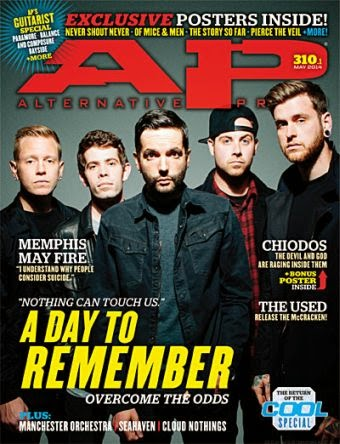 Alternative Press A Day To Remember Cover Sound In The