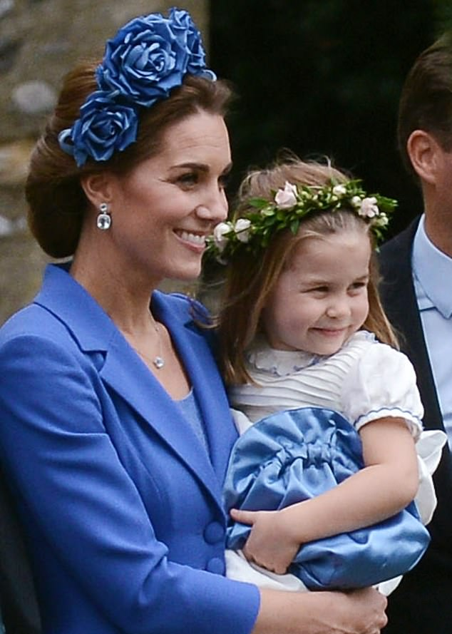 Duchess Kate Attends Wedding of Childhood Friend