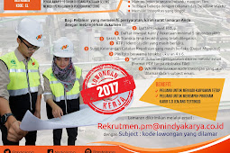 Lowongan Kerja Teknik Sipil / Teknik Elektro PT Nindya Karya (Persero)