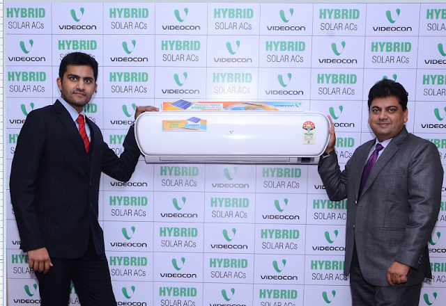 Videocon, brings Green Air Conditioner powered by Solar Energy Unveils Videocon Hybrid Solar ACs