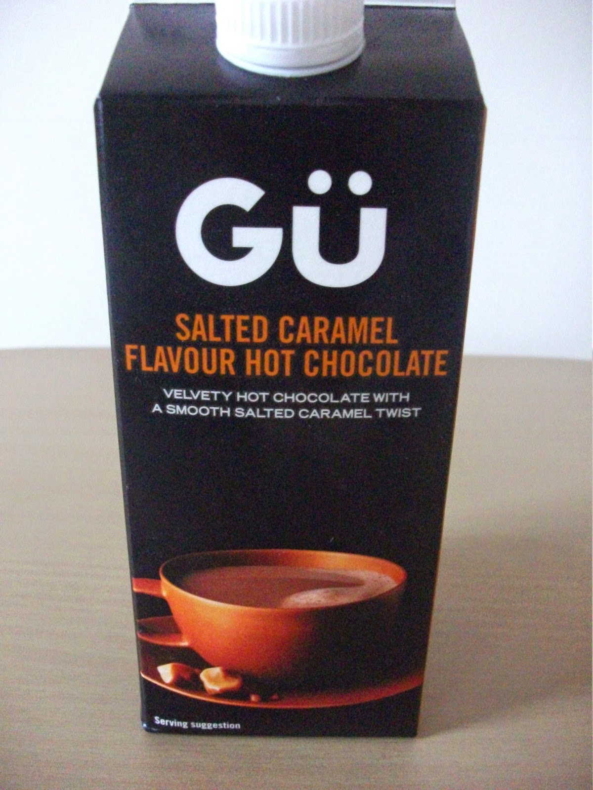 Gu Salted Caramel Hot Chocolate Review