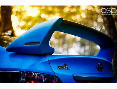 Hyundai Verna Blue Bee Edition back