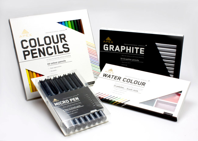 Apex Art Supply (Student Work) On Packaging Of The World