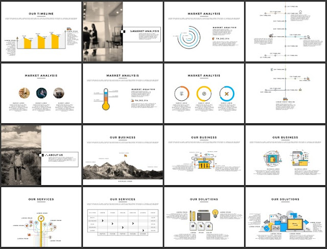 Multi Purpose Best and Free Powerpoint 4x3 Template [CODE] Slide 17-32