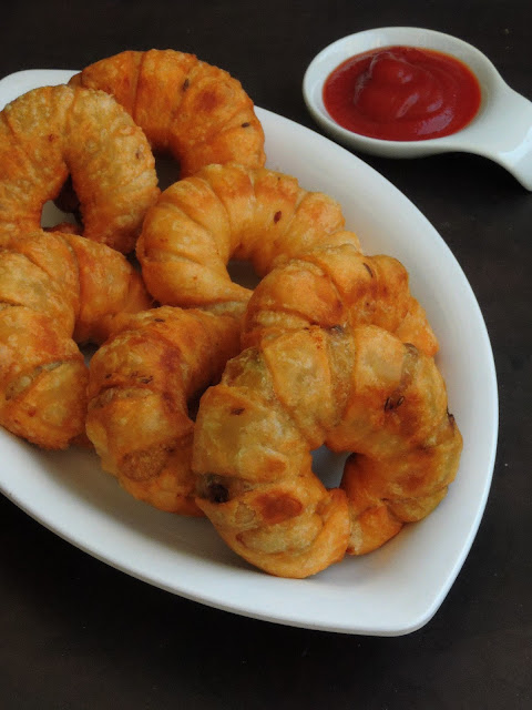 Ring Shaped Samosas