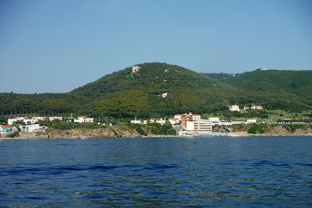 Miramare seen from the sea, Antignano, Livorno