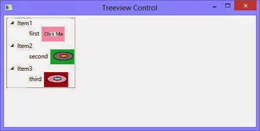 How to use images in Treeview control WPF XAML
