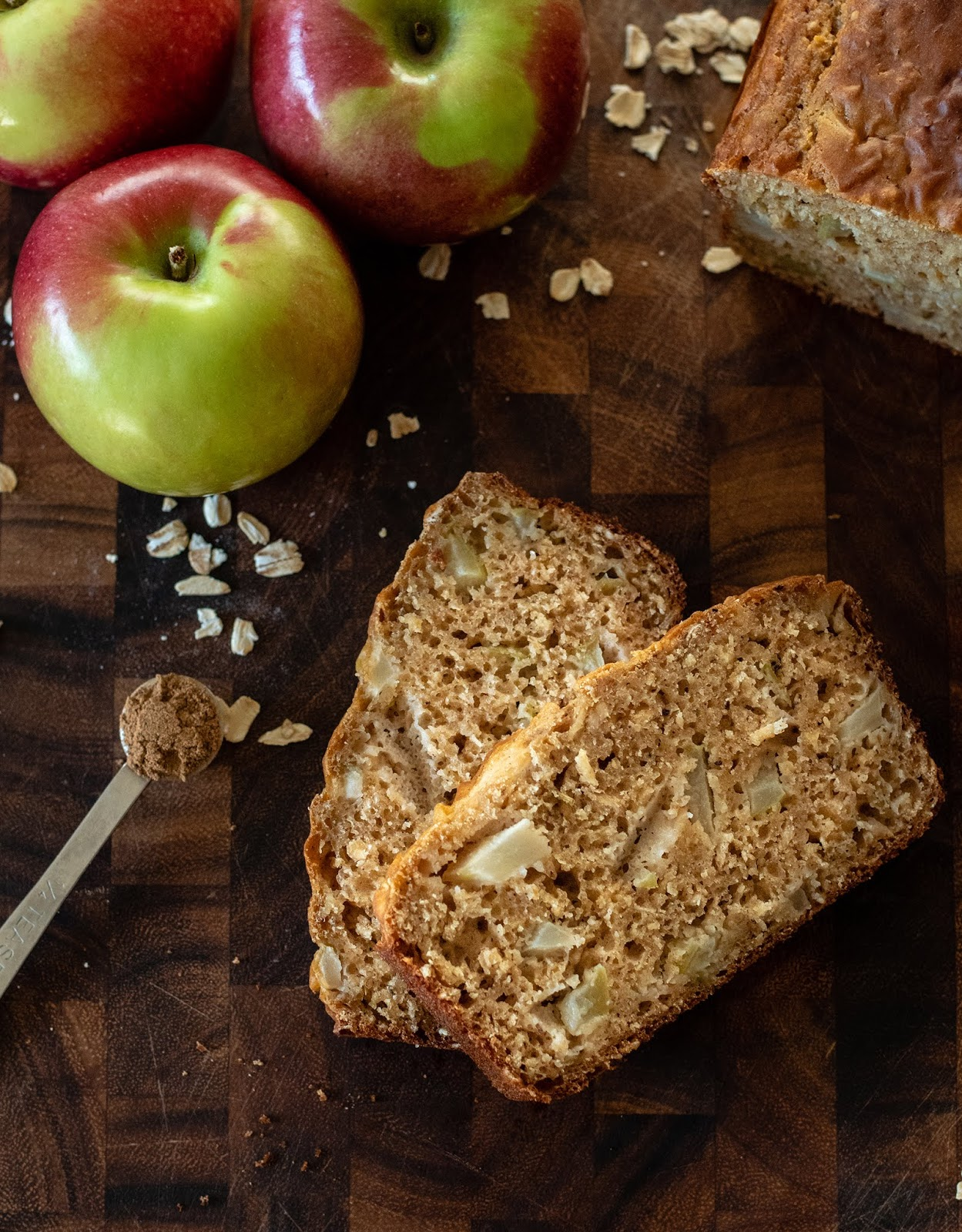 Local Food Rocks: Apple Pie Spice Breakfast Bread Slices