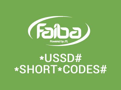 faiba ussd codes