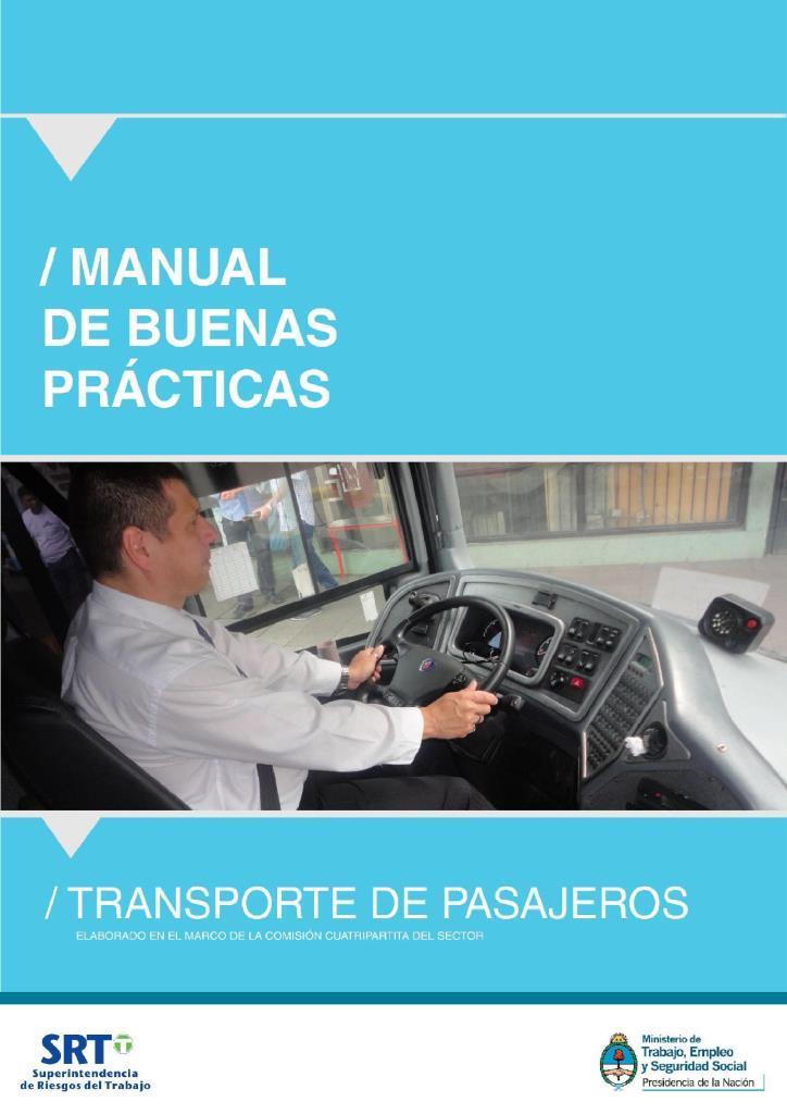 Manual de buenas prácticas: Transporte de pasajeros