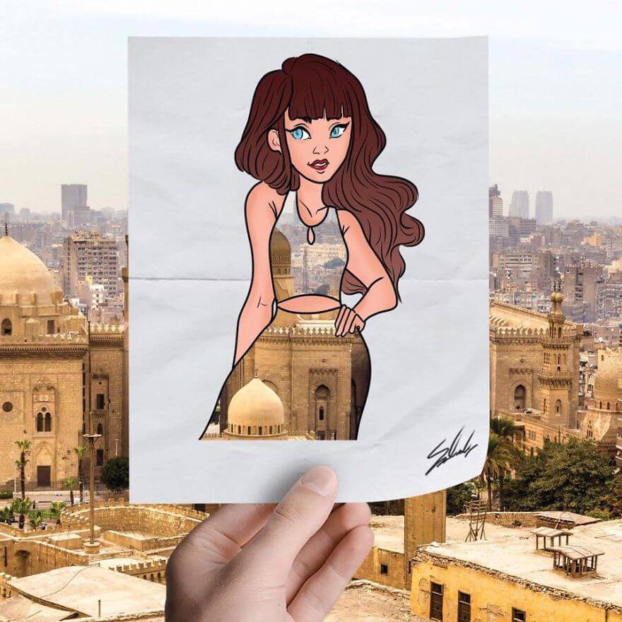 20 Amazing Fashion Cutouts Depict The Beauty Of Egypt