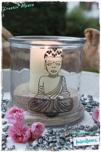 Probeplotten Fusselfreies Buddha